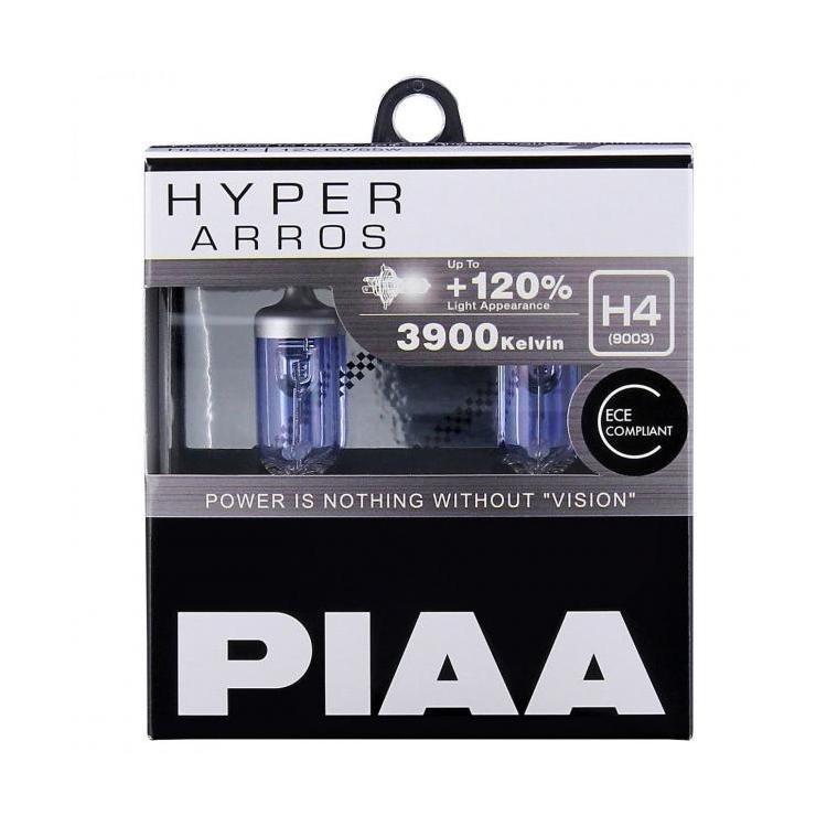 Галогенные лампы PIAA HYPER ARROS 3900K H-4
