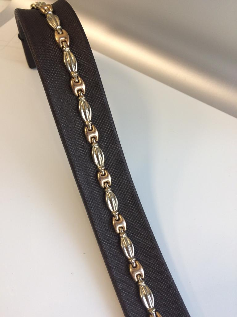 Золотой браслет - 19 размер