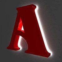 Изготовление объемных логотипов, букв, цифр и слов