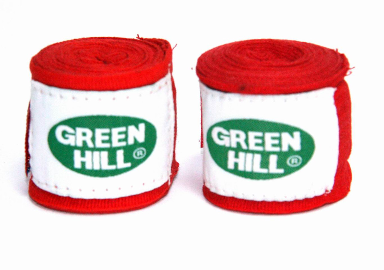 Боксерский бинт Green Hill 3м