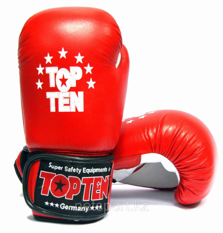 Боксерские перчатки Top Ten кожа