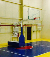 Стойка баскетбольная передвижная складная