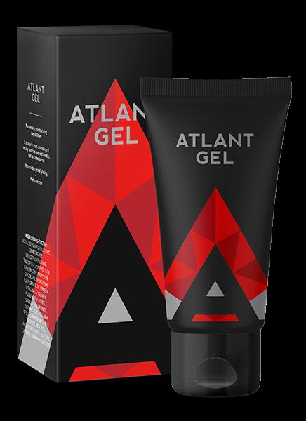 Интимный гель для увеличения пениса Atlant gel 50 ml