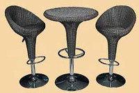 Набор мебели, барный (ротанг)
