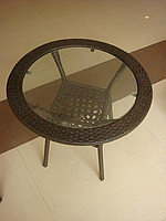 Стол искусственный ротанг