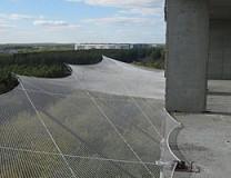 Защитно-улавливающая сетка 3,5 х 12 метр