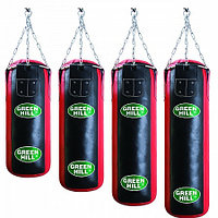 Боксерский мешок GREEN HILL оригинал кожа 180 см / 30 см