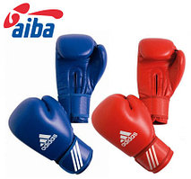 Боксерские перчатки Adidas Aiba кожа