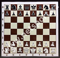 Доска шахматная демонстрационная  с фигурами
