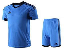 Футбольная форма Adidas взрослая синяя