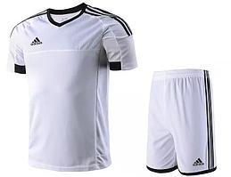 Футбольная форма на команду Adidas взрослая белая