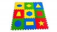 Универсальный коврик Геометрия 33*33(см), 9 дет. 1(м2)
