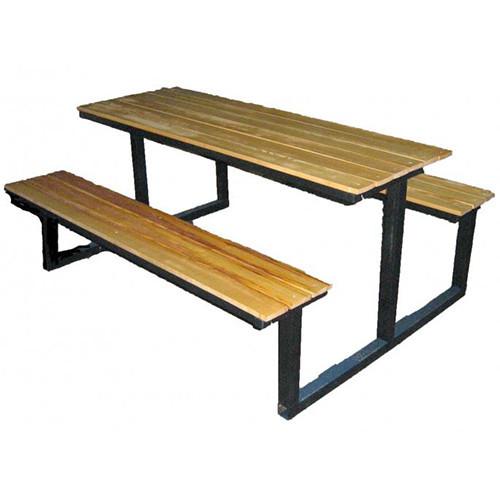 Столик с скамейками