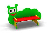 Скамейка для детской площадки «Гусеницa», фото 1