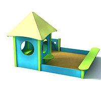 Песочный дворик, песочница для детской площадки
