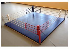 Ринг боксерский 4 х 4 м на растяжках
