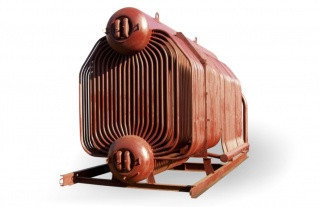 Котел паровой ДКВр-10-13-250ГМ на газе и жидком топливе