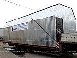 Водогрейная установка котельная модульная МКУ-В-0,8(0,4х2)-Р с ручной подачей топлива, фото 2