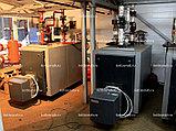 Водогрейная установка котельная модульная МКУ-В-0,8(0,4х2)-Р с ручной подачей топлива, фото 8