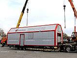 Водогрейная установка котельная модульная МКУ-В-1,8(0,6х3)-Р  с ручной подачей топлива, фото 3