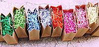 Стружка бумажная цветная (солома декоративная)