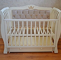 Детская кроватка Арманда люкс два (слоновая кость), фото 1