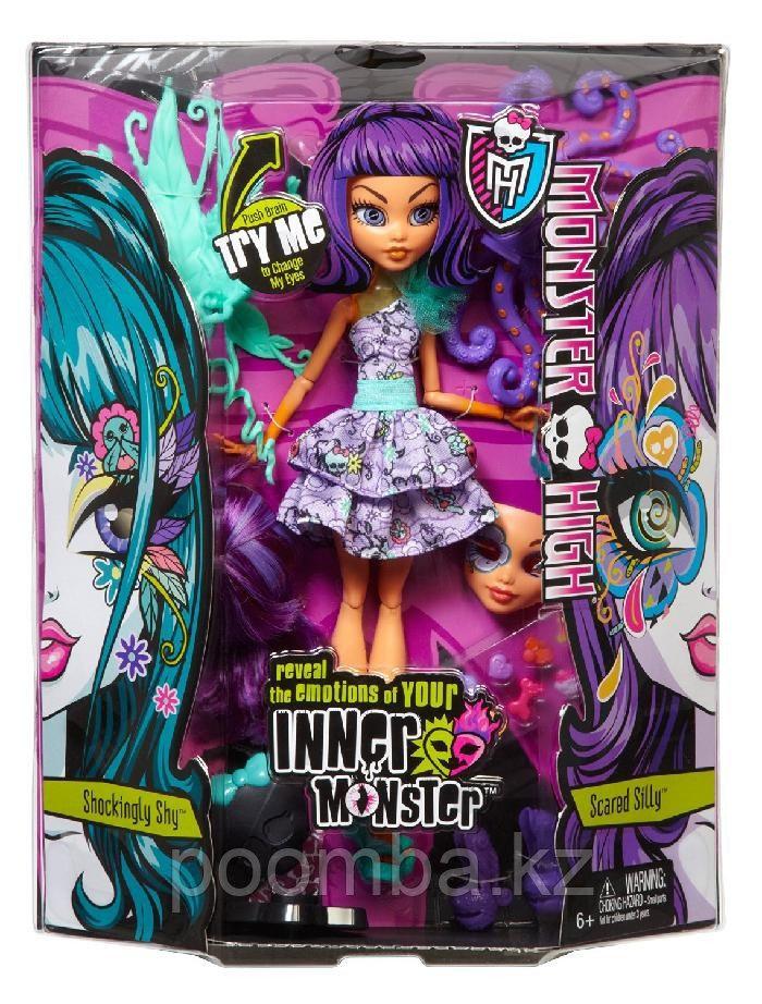 Двойная кукла 'Spooky Sweet & Frightfully Fierce', из серии 'Inner Monster', Monster High Mattel