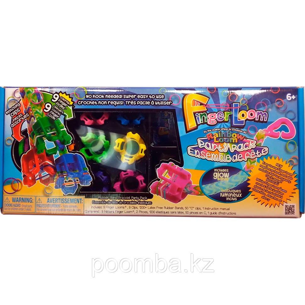 Набор для плетения браслетов из резиночек Finger Loom (Фингер Лум) Набор для вечеринки