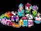 LEGO Classic: Дополнение к набору для творчества – пастельные цвета 10694, фото 3