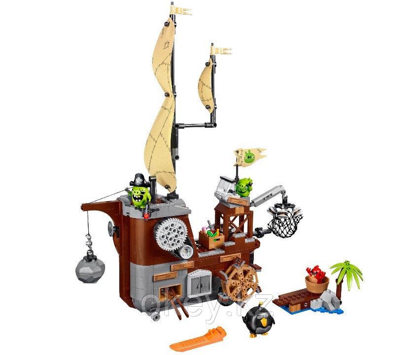 LEGO Angry Birds: Пиратский корабль свинок 75825 - фото 2