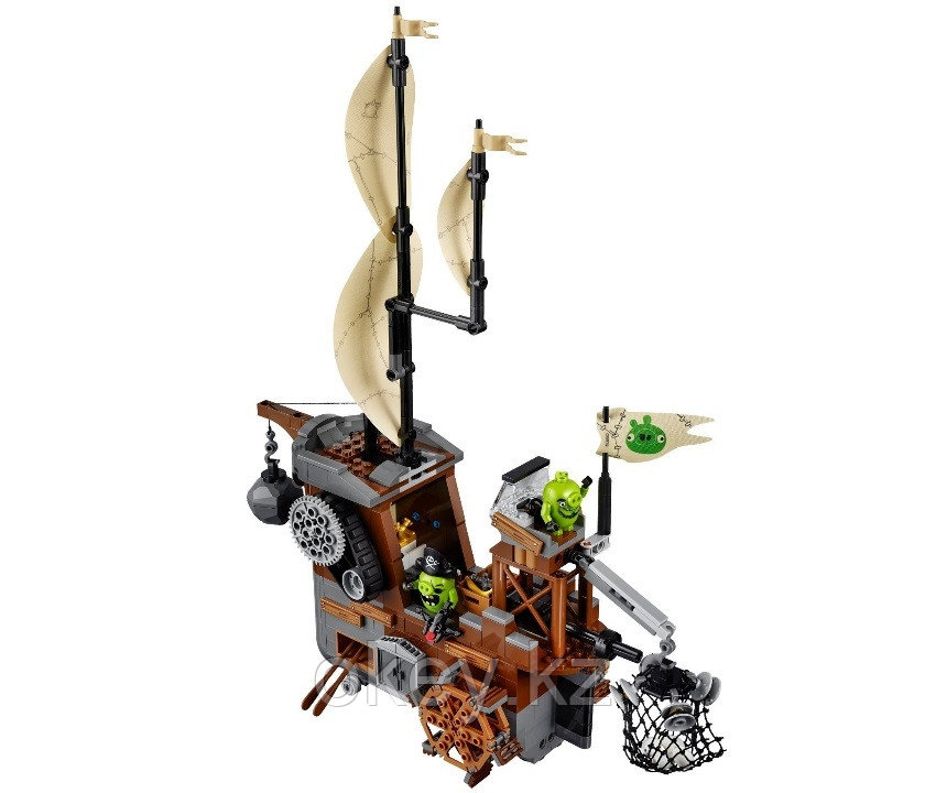 LEGO Angry Birds: Пиратский корабль свинок 75825 - фото 3