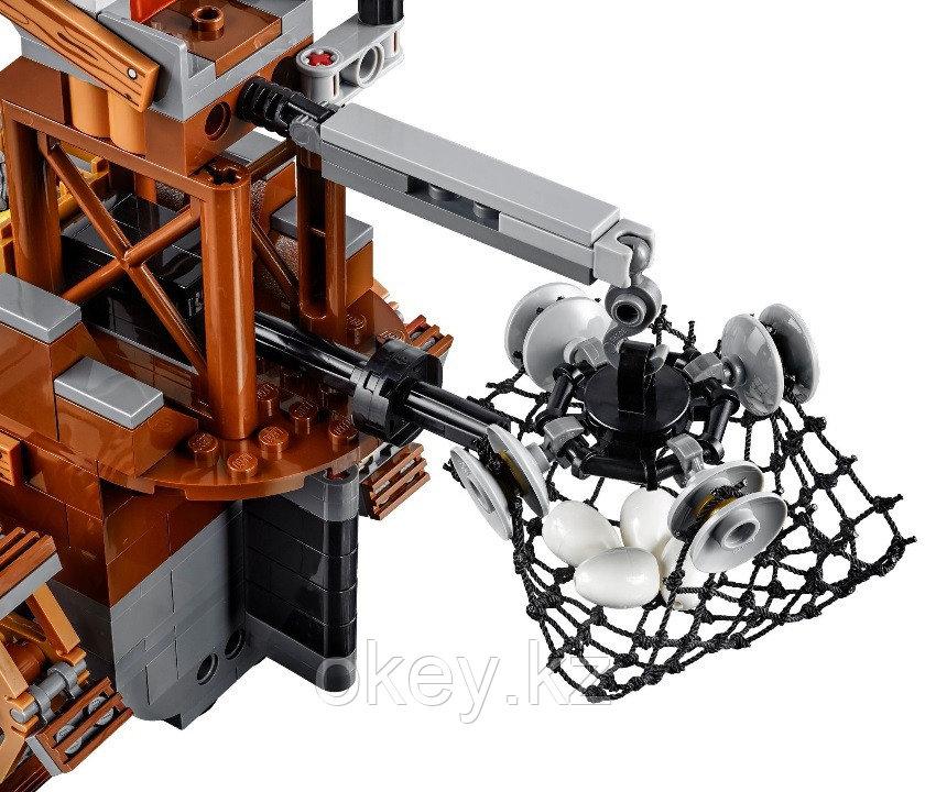 LEGO Angry Birds: Пиратский корабль свинок 75825 - фото 4