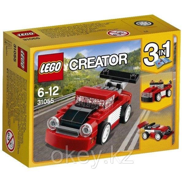 LEGO Creator: Красная гоночная машина 31055