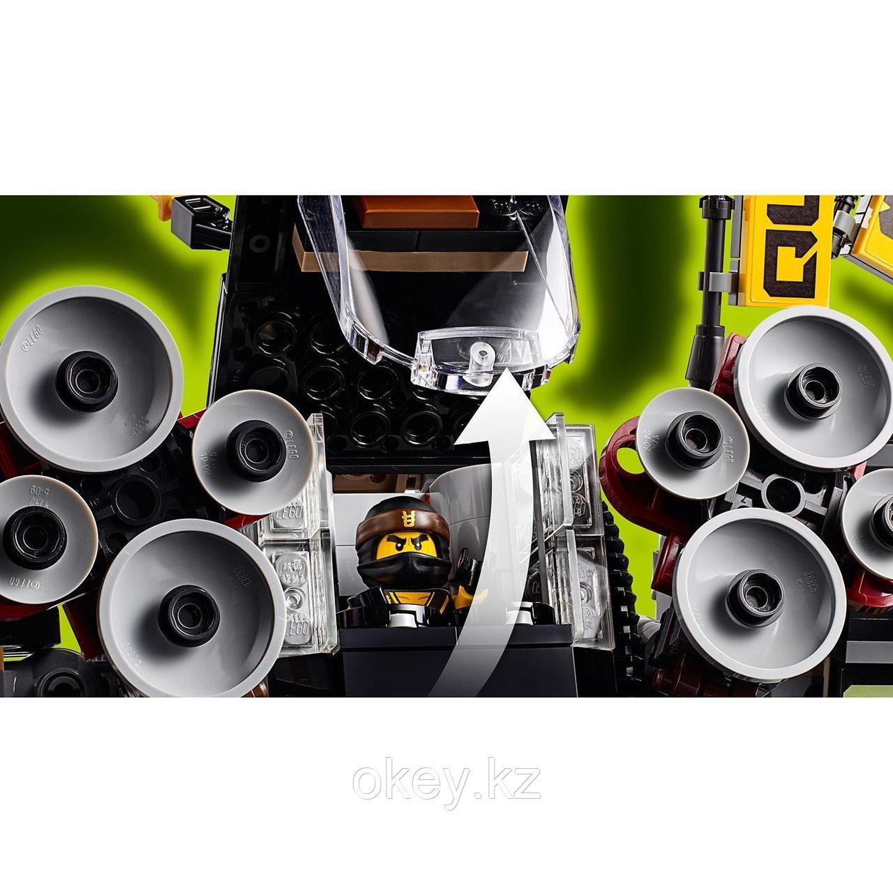 LEGO Ninjago Movie: Робот землетрясений 70632 - фото 6