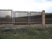 Забор из полигаля