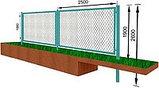 Забор из сетки рябицы, фото 2