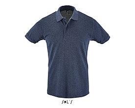 Рубашка поло мужская | Perfect Men | Sols | Heather denim