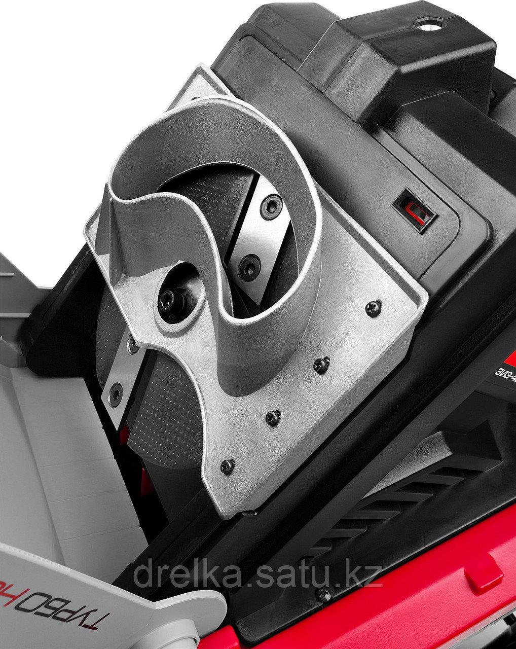 Измельчитель веток садовый ЗУБР ЗИЭ-40-2500, электрический, режущая способность 40 мм, контейнер 50 л, 2500 Вт - фото 8