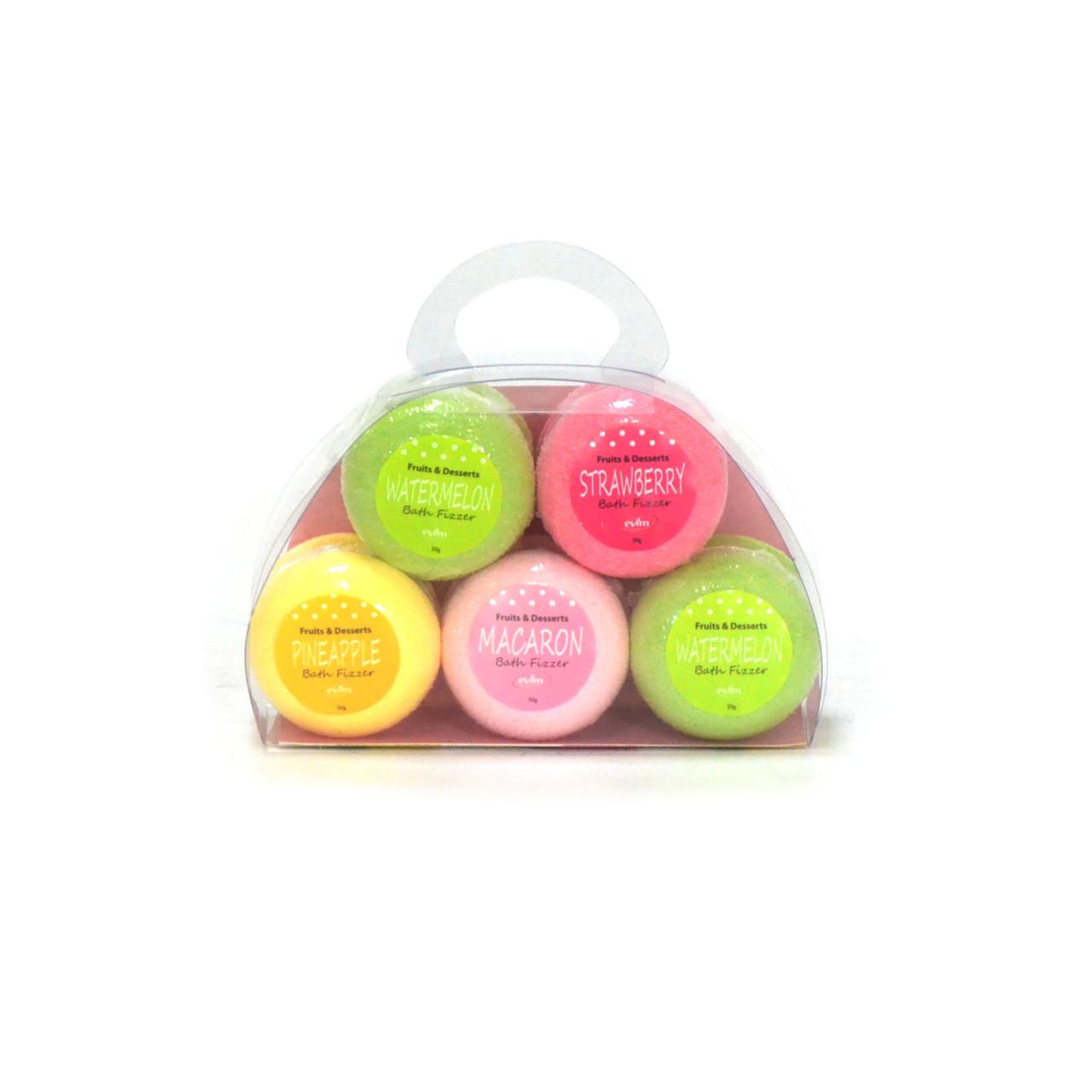 Набор бомбочек для ванной fruits