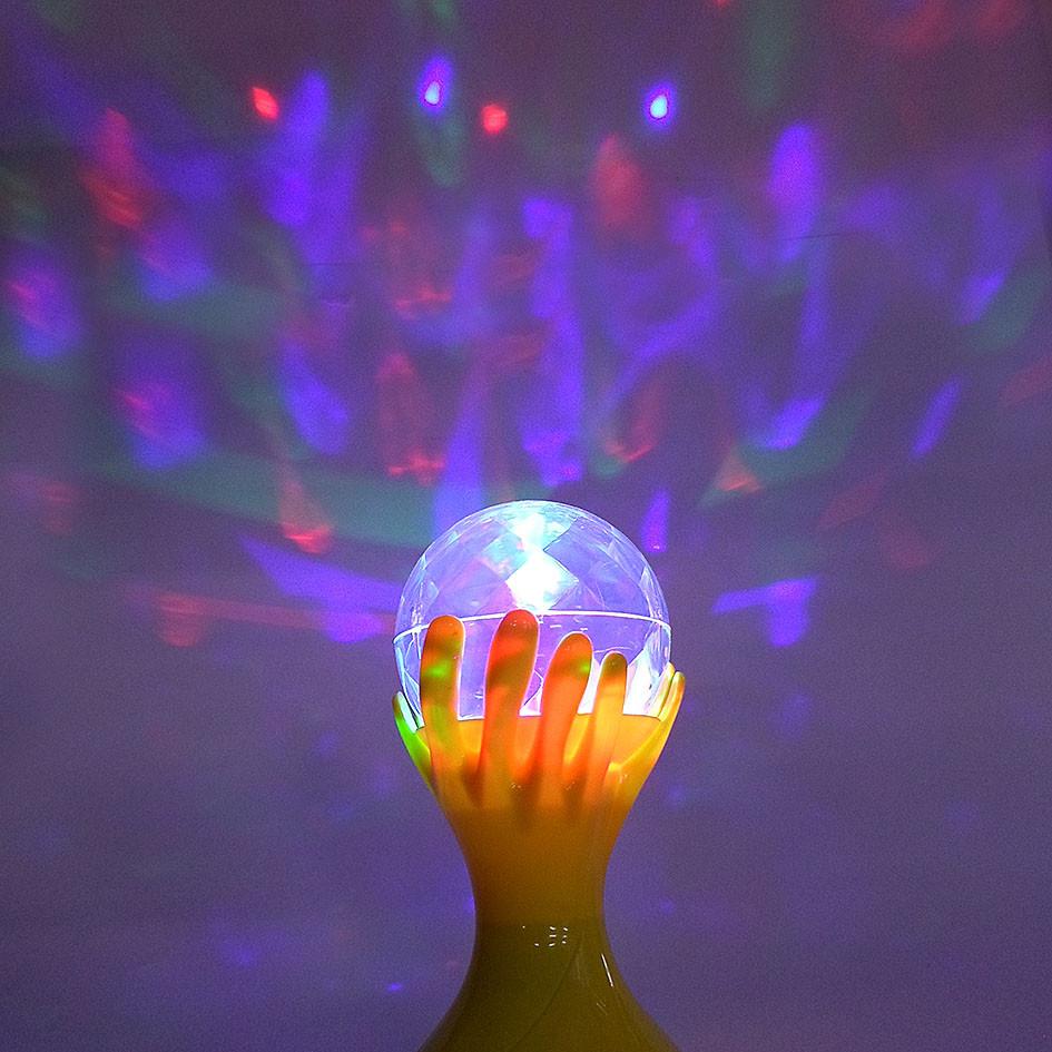 LED светильник цветомузыка