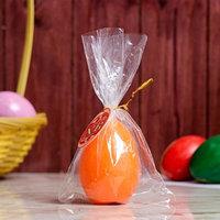 Свеча-яйцо 'Оранжевое'