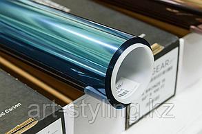 "Солнцезащитая зеркальная пленка ""синий-серебро"" 15%"