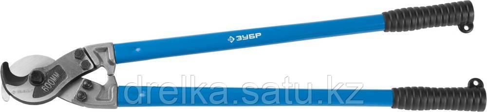 """Кабелерез ЗУБР """"ЭКСПЕРТ"""" для резки небронированного кабеля из цв мет.,сталь У8А, кабель сечением до 150 мм2"""