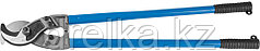 """Кабелерез ЗУБР """"ЭКСПЕРТ"""" для резки небронированного кабеля из цв мет.,сталь У8А, кабель сечением до 300 мм2"""