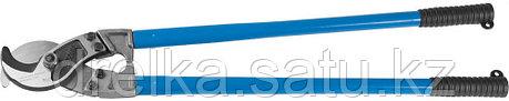 """Кабелерез ЗУБР """"ЭКСПЕРТ"""" для резки небронированного кабеля из цв мет.,сталь У8А, кабель сечением до 300 мм2, фото 2"""