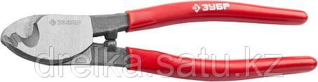 """Кабелерез ЗУБР""""МАСТЕР""""для резки неброн кабеля из цв металлов, цельнокованые из Ст 55,кабель сечением до 38 мм2, фото 2"""