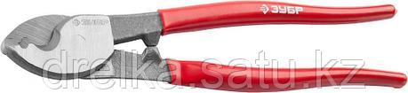 """Кабелерез ЗУБР """"МАСТЕР"""" для резки неброн кабеля из цв мет., цельнокованые из Ст 55,кабель сечением до 60 мм2, фото 2"""