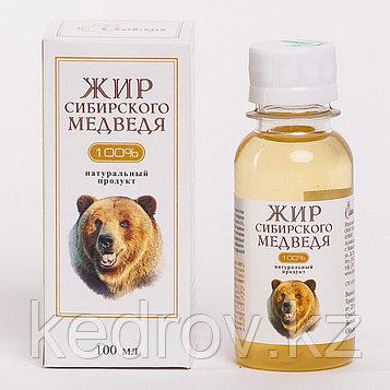 Медвежий жир (топленый) 100 мл.