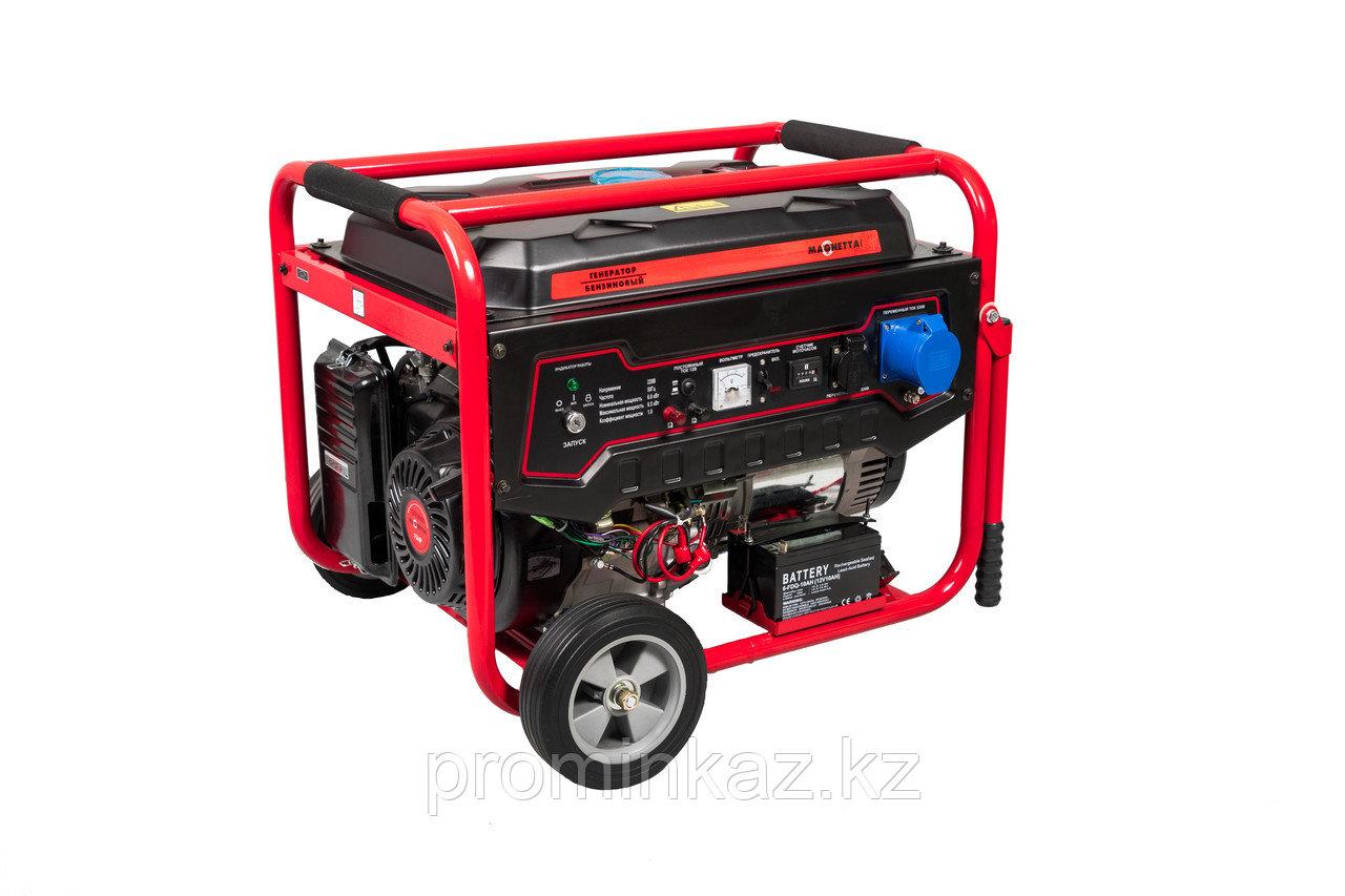 Бензиновый генератор MAGNETTA GFE8000 - 6,5 кВт