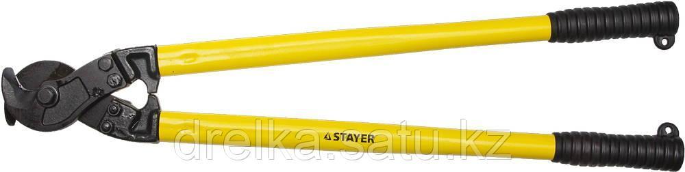 """Кабелерез STAYER """"PROFI"""" для цветных металлов (Cu + Al ), кабель до d 16мм, 800мм"""